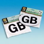 GB Car Badge Magnetic